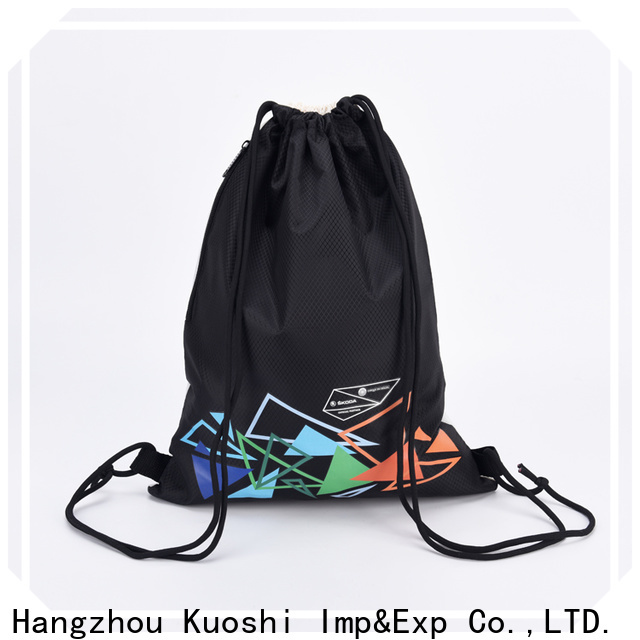 latest string backpack polyester suppliers for gym