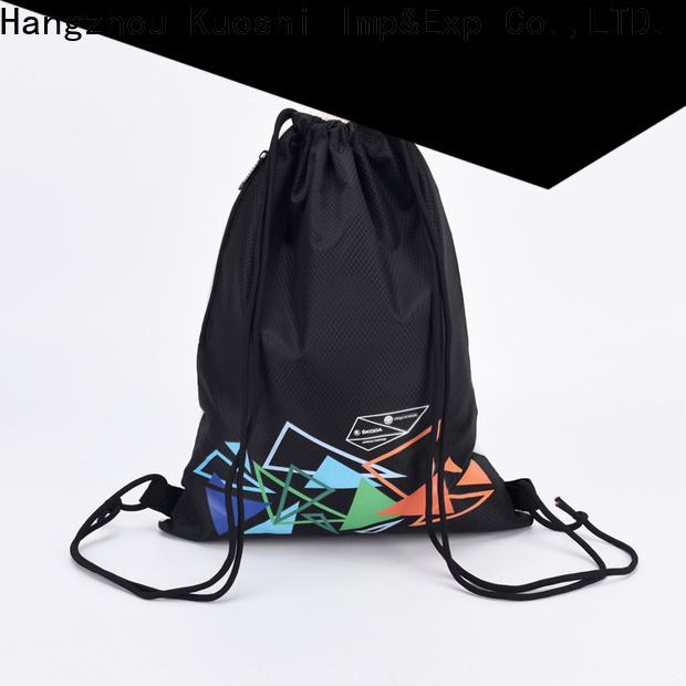 KUOSHI best sturdy drawstring bag supply for school