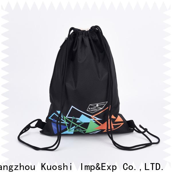 KUOSHI high-quality bulk buy drawstring bags for business for gym