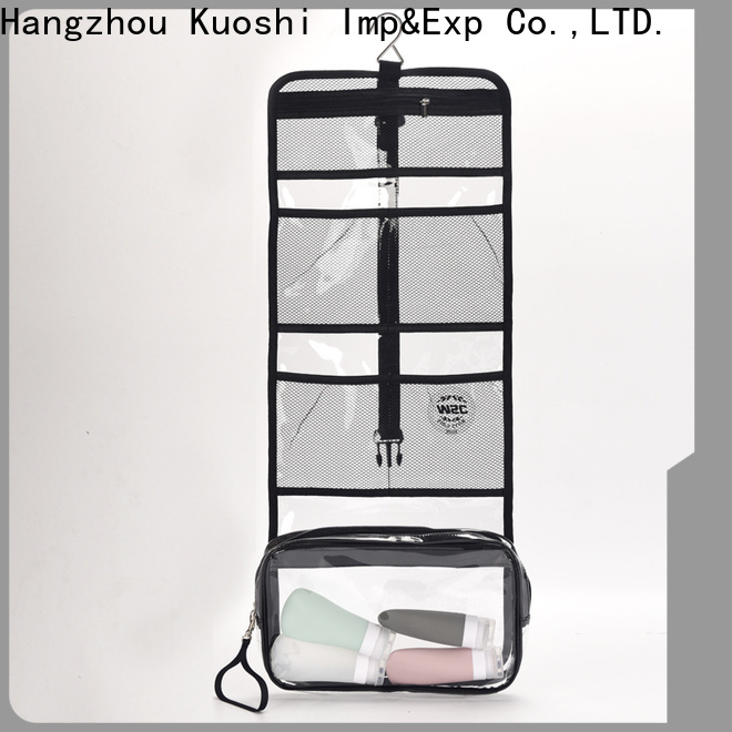 KUOSHI pvc pvc cosmetic bag factory for cosmetic packaging