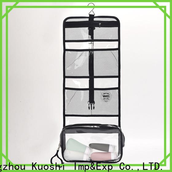KUOSHI toiletry pvc drawstring bag supply for girl