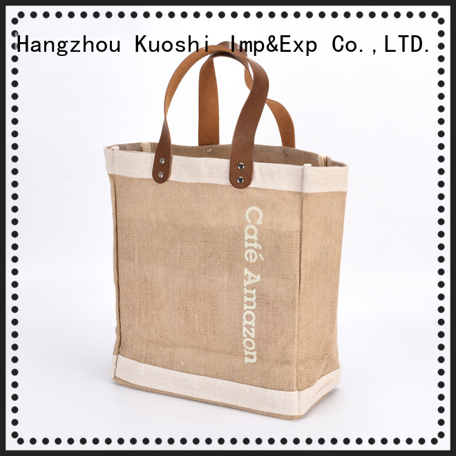 KUOSHI linen gift bags supply for supermarket
