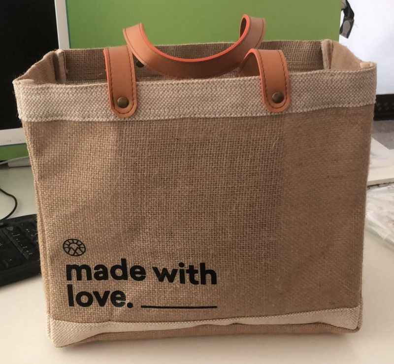 KUOSHI linen gift bags supply for supermarket-4