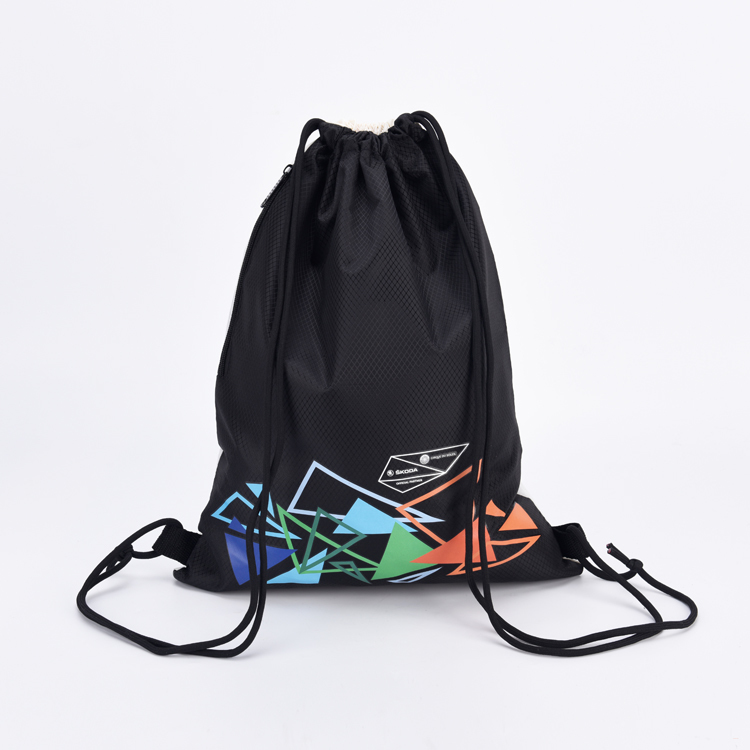 Magic Design Custom Recycled Polyester Drawstring Bag