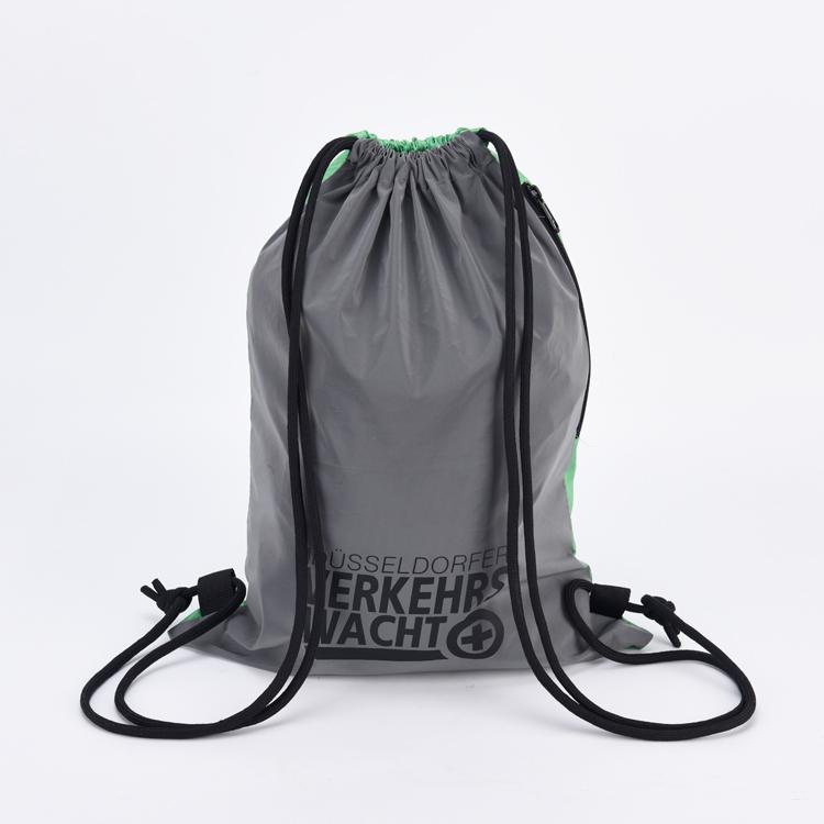 KUOSHI polyester high quality drawstring bag for school-1
