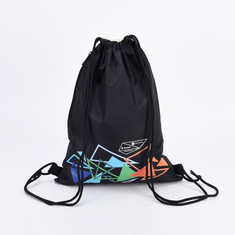 KUOSHI polyester high quality drawstring bag for school-2