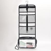 Custom Clear PVC Cosmetic Bag and PVC Toiletry Bag