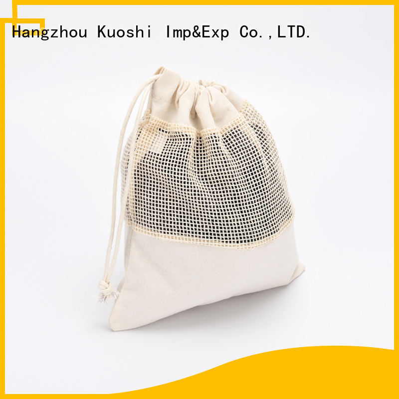 KUOSHI vegetable heavy duty mesh bag for business for supermarket