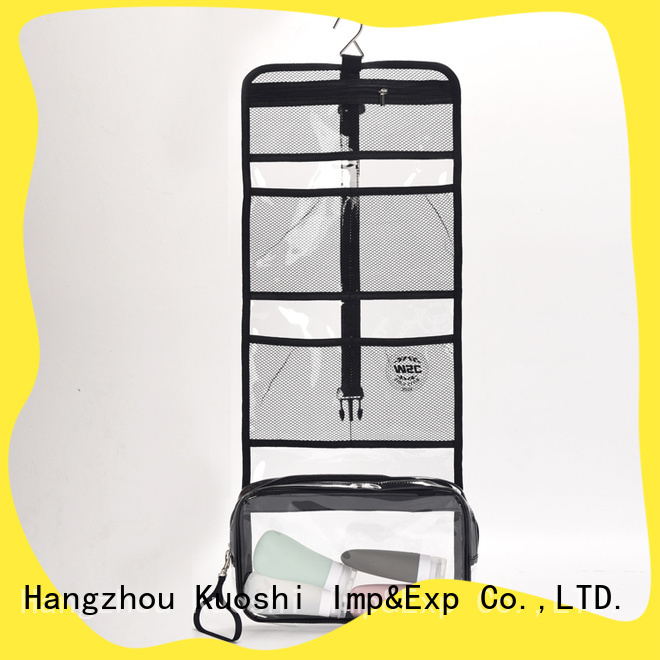 KUOSHI toiletry pvc pouch manufacturers suppliers for travel