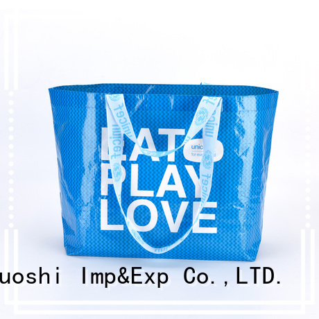 KUOSHI promotional pp woven fabric suppliers for grocery shopping