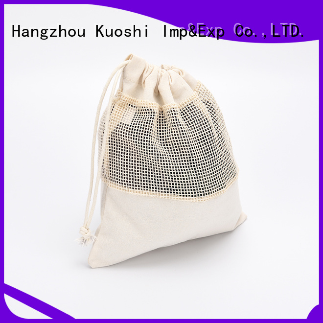 high-quality mesh laundry bag drawstring bag for business for food