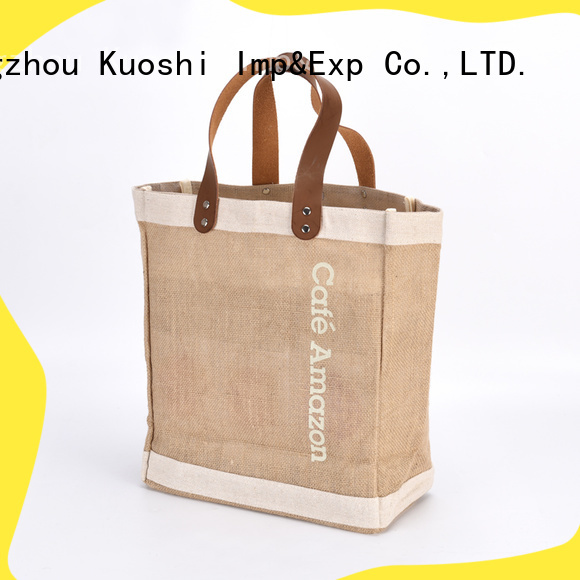 KUOSHI best burlap favor bags supply for marketing