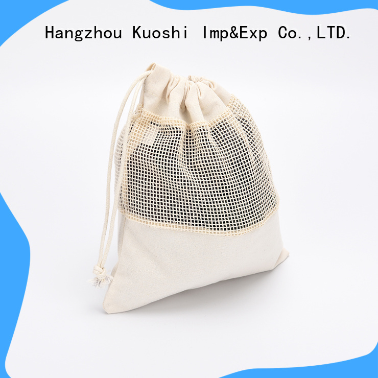 KUOSHI high-quality reusable mesh bags supply for food