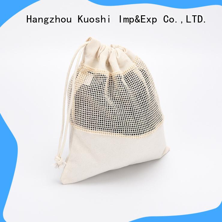 KUOSHI high-quality reusable mesh bags supply for food