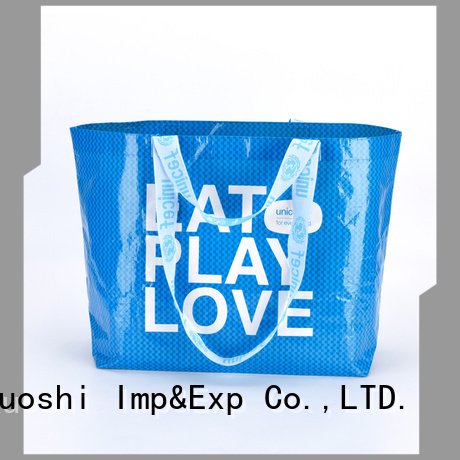 KUOSHI woven pp woven bags supplier for beach visit