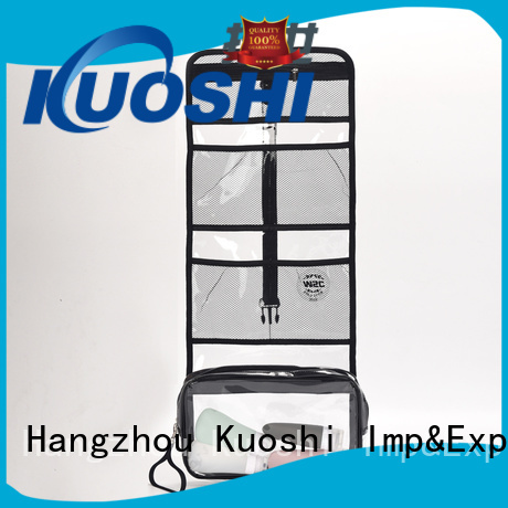 KUOSHI bag transparent cosmetic bag factory for make-up packaging