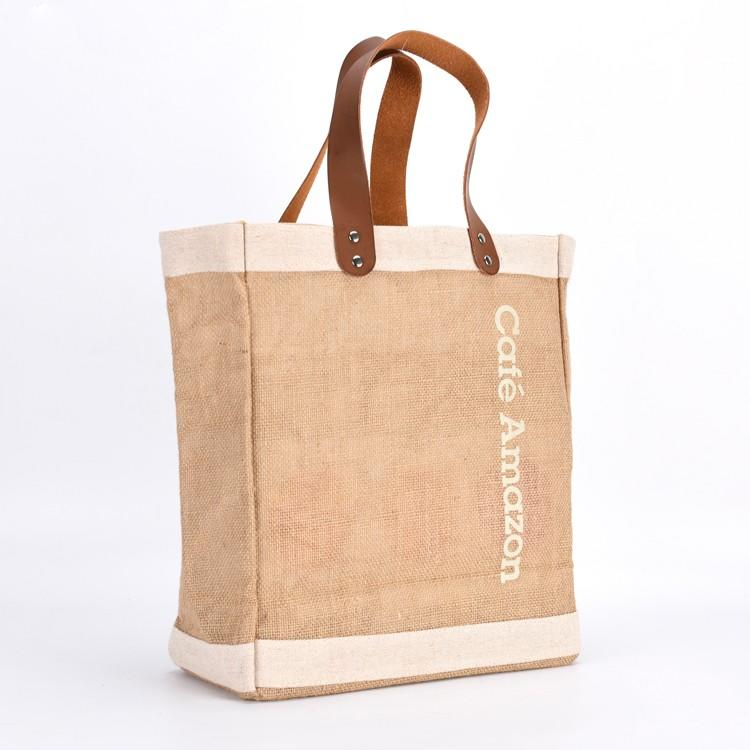 KUOSHI linen gift bags supply for supermarket-2