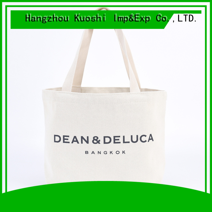 KUOSHI eco sturdy canvas tote suppliers for office work