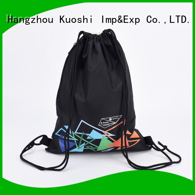 KUOSHI new white drawstring backpack bulk for business for sport