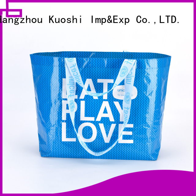 new laminated pp woven bag woven factory for shopping