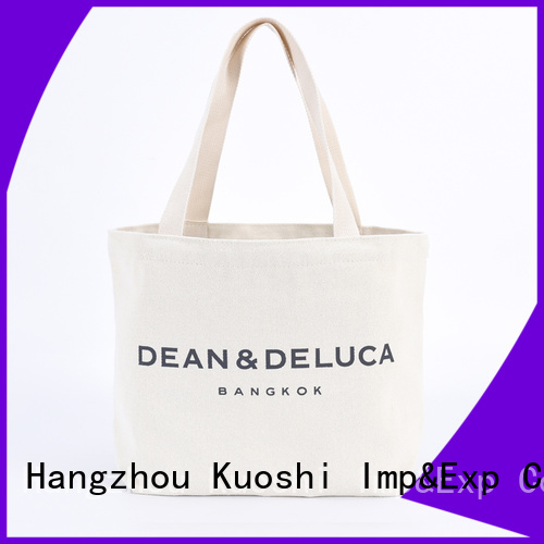 KUOSHI top canvas designer tote for events
