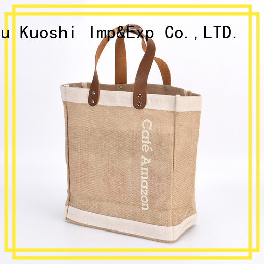 KUOSHI latest jute pouches wholesale factory for restaurant