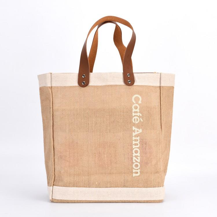 KUOSHI wholesale big jute bags online suppliers for food-1