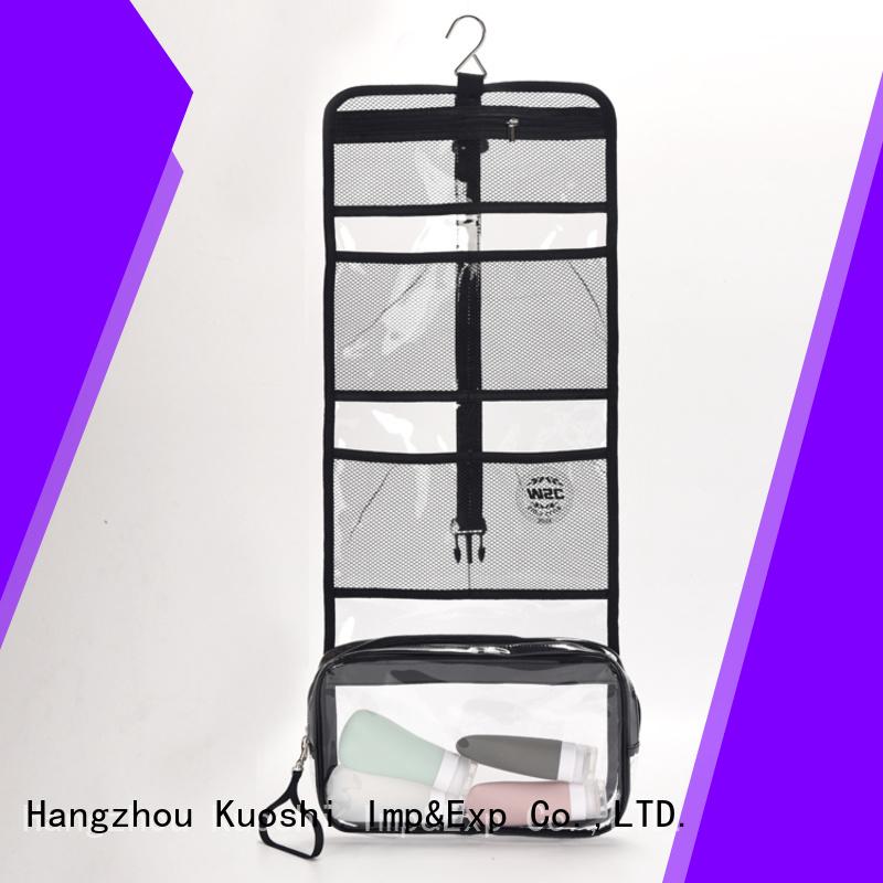 custom plastic pvc bag toiletry suppliers for travel