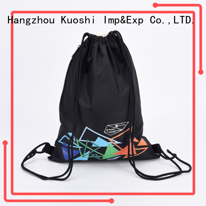 wholesale personalized drawstring backpack bag for gym