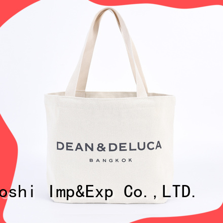 custom promo canvas bags printed for business for park