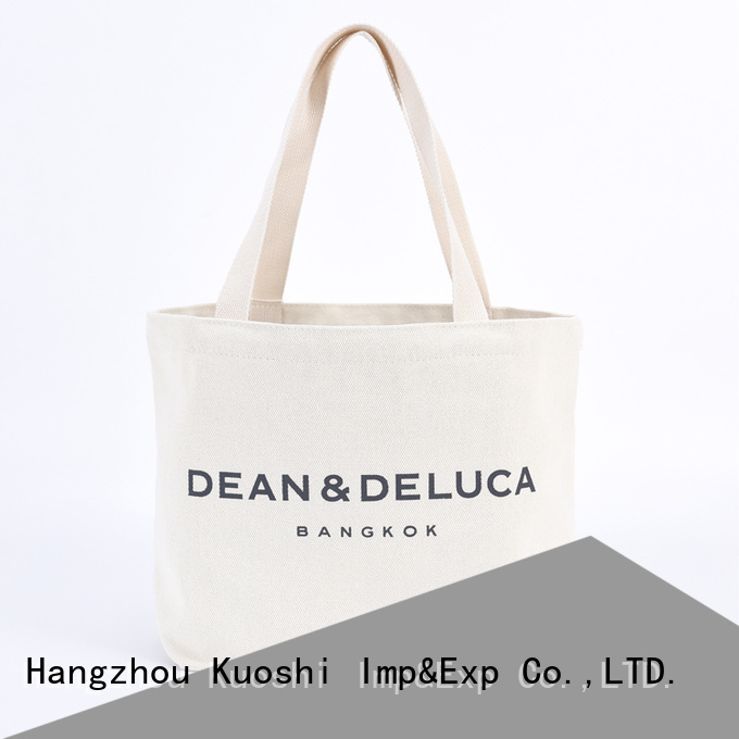 KUOSHI new where to buy canvas tote bags company for shopping